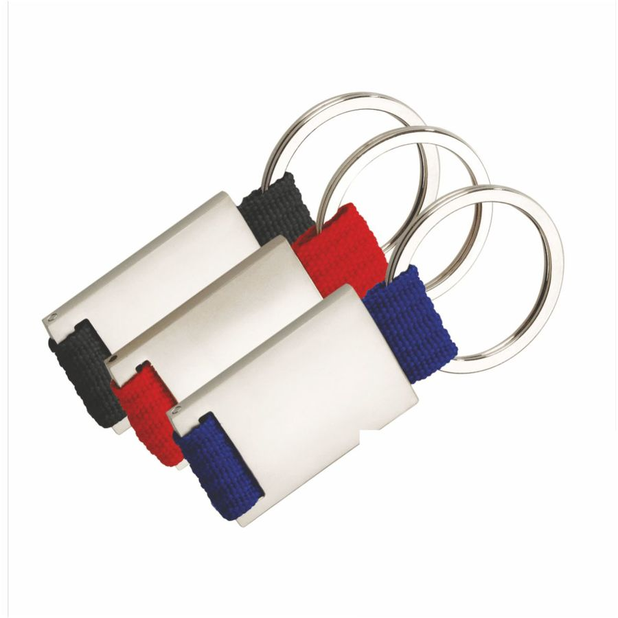 Schlüsselanhänger Black/Red/Bluetape (Artikelnr.: 2110.00)