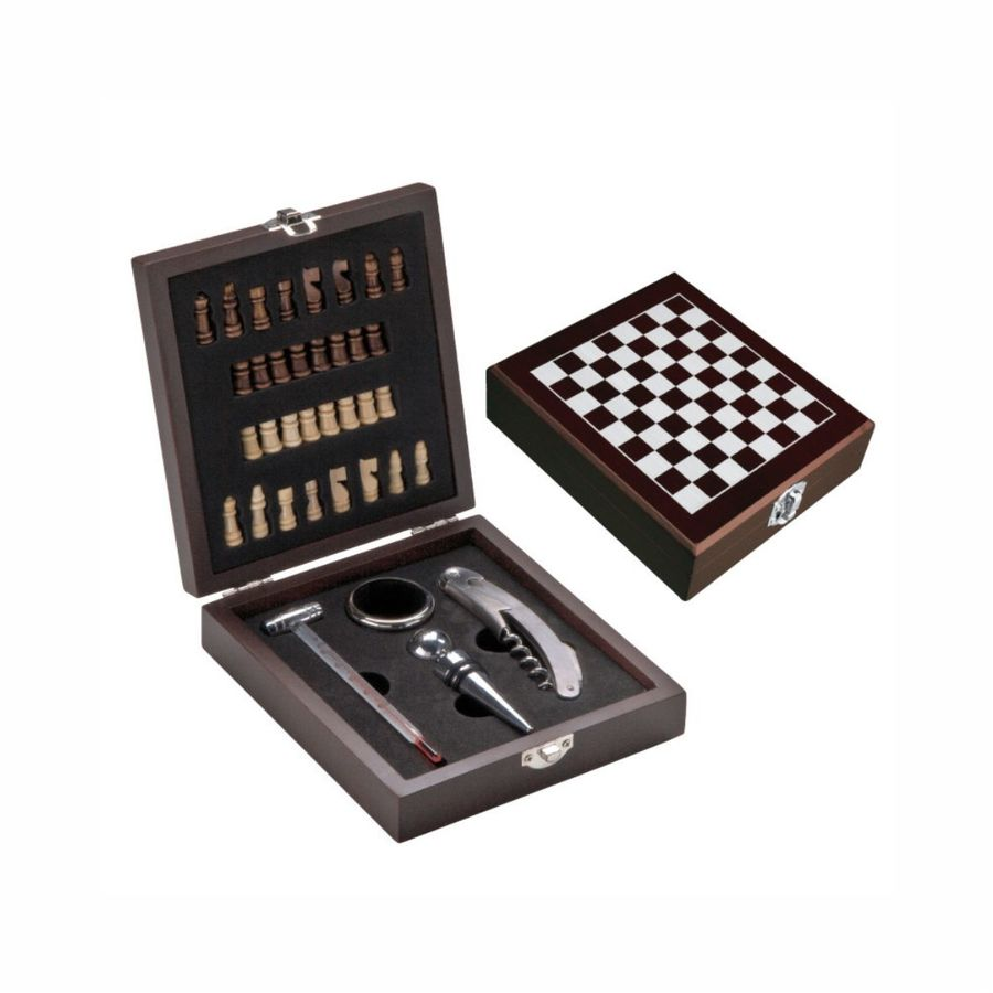 Schach-Weinset San Gimignano (Artikelnr.: 4037.01e)