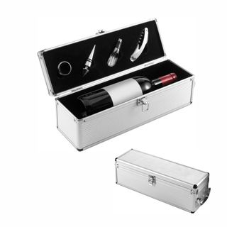 Luxus-Weinset Alu-Line (Artikelnr.: 6829.32)
