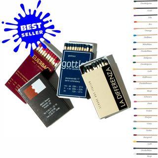 Zündholz-/ Streichholzschachtel  56 x 35 x 7 mm Bestseller (Artikelnr.: 7741.00)